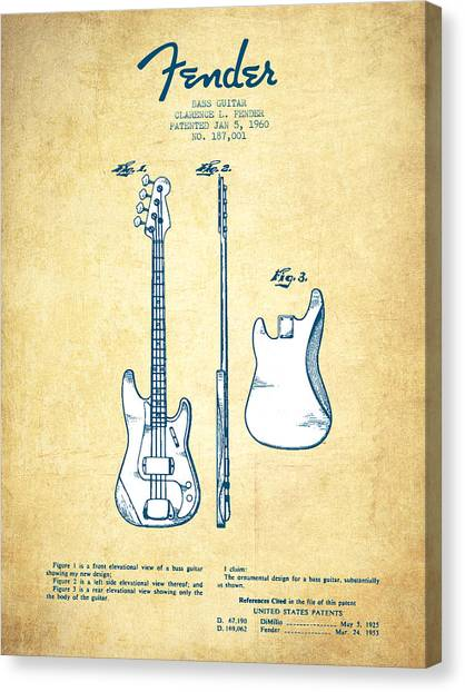 Acoustic Bass Guitar Canvas Prints (Page #4 of 17) | Fine Art America