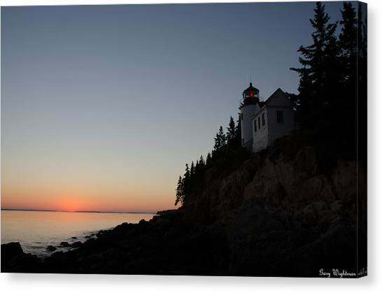 Bass Harbor Lighthouse Canvas Print
