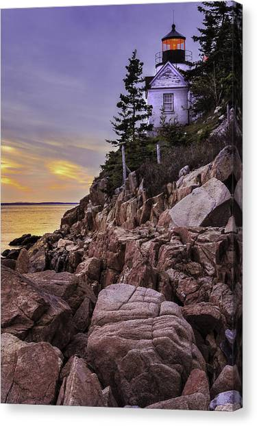 Bass Head Lighthouse Canvas Print
