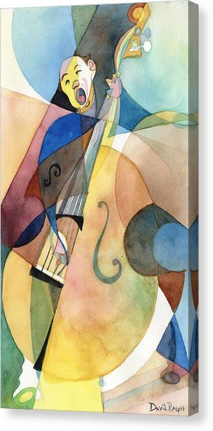 Bassline Canvas Print