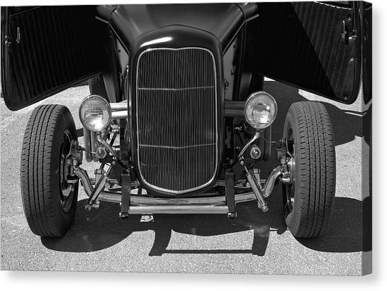 Bat Wings - Ford Coupe Canvas Print