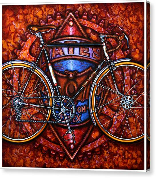 Bates Bicycle Canvas Print