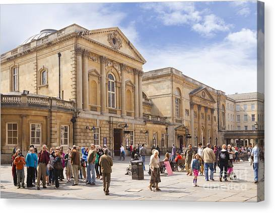 Bath Somerset Canvas Print by Colin and Linda McKie