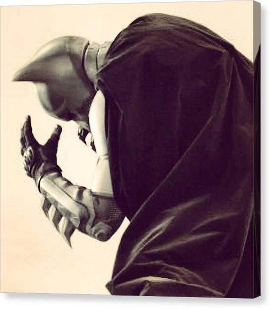 Robins Canvas Print - #batman #drama #robin #death by Oliver Kuy