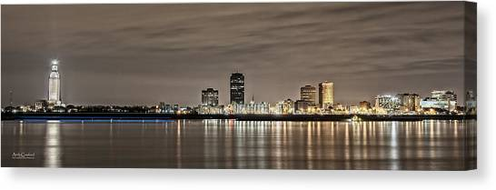 Baton Rouge Skyline Canvas Print