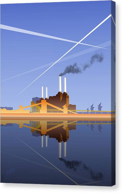 Battersea Infinity Canvas Print