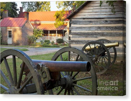 Canvas Print featuring the photograph Battle Of Franklin by Brian Jannsen
