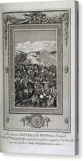 Impartial Canvas Print - Battle Of The Boyne by British Library