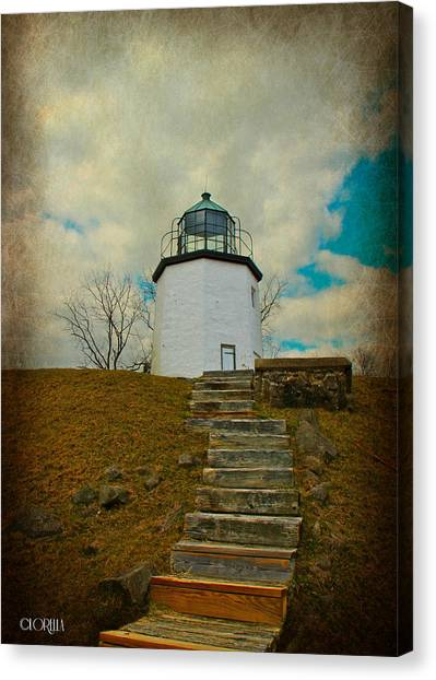 Battlefield Lighthouse  Canvas Print