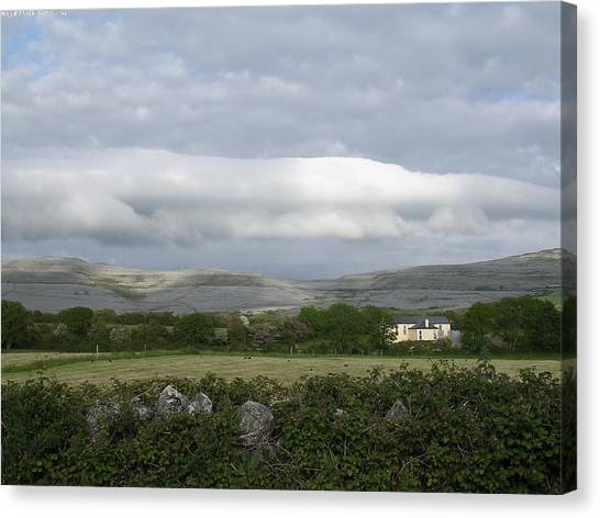 Baughlyvann Clouds Canvas Print