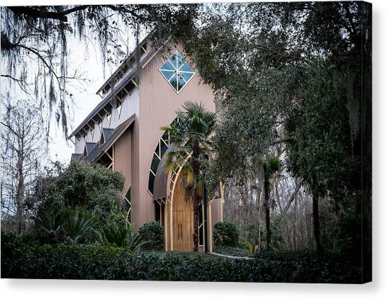 University Of Florida Canvas Print - Baughman Center  by Louis Ferreira