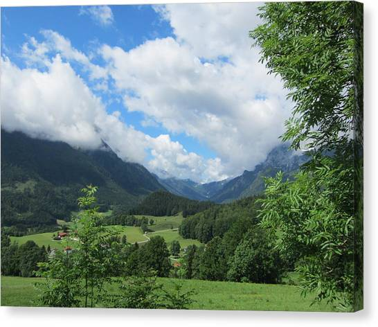 Bavarian Countryside Canvas Print