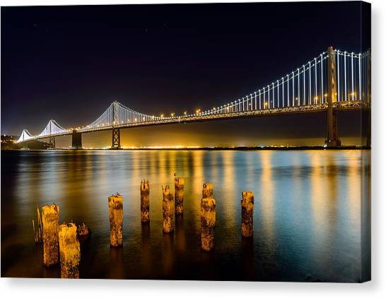 Bay Bridge Canvas Print