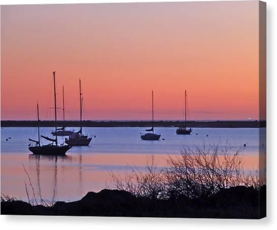 Bay Harbor Canvas Print