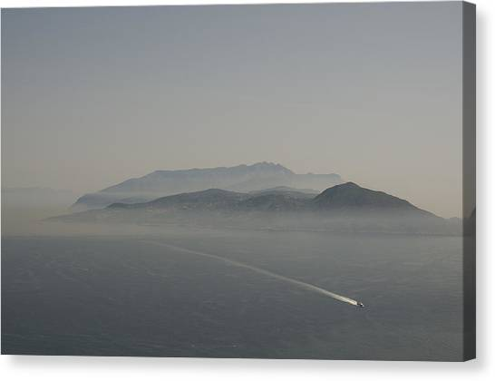 Mount Vesuvius Canvas Print - Bay Of Naples Mount Vesuvius Italy by Xavier Cardell