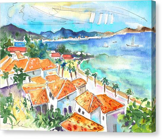 Bay Of Saint Martin Canvas Print