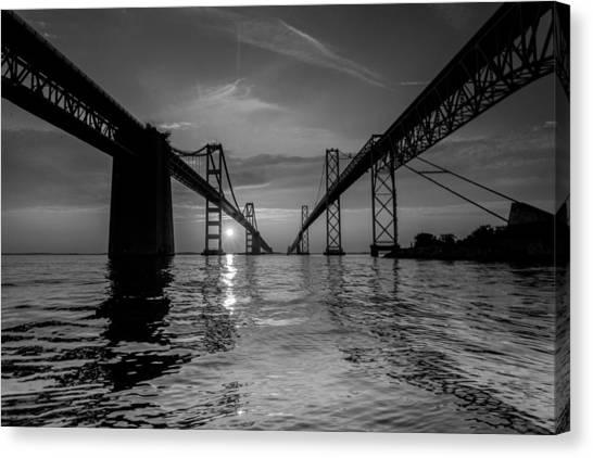 Bay Bridge Strength Canvas Print