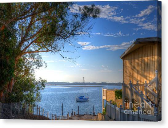 Bay View Day Canvas Print