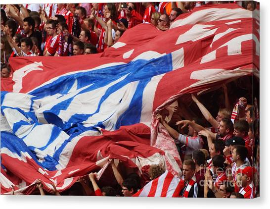 Bayern Munich Fans Canvas Print