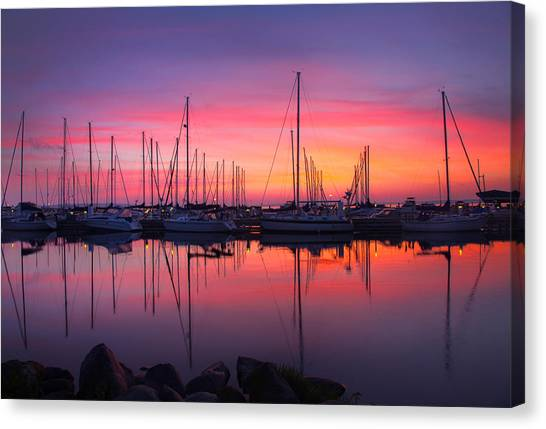 Bayfield Wisconsin Magical Morning Sunrise Canvas Print