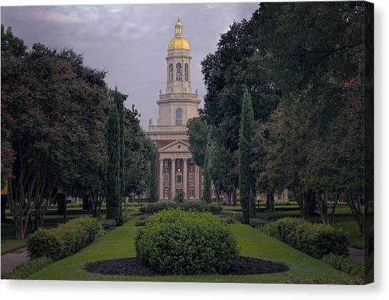 University Tower Canvas Print