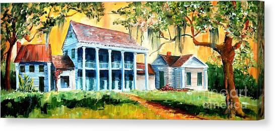 Bayous Canvas Print - Bayou Country by Diane Millsap