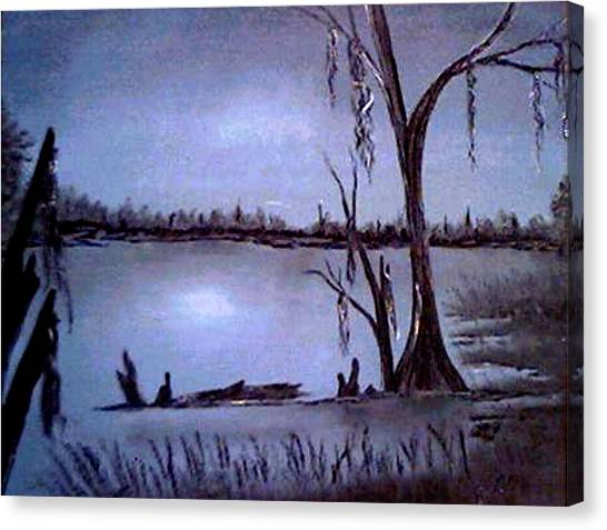 Bayou Dreams Canvas Print