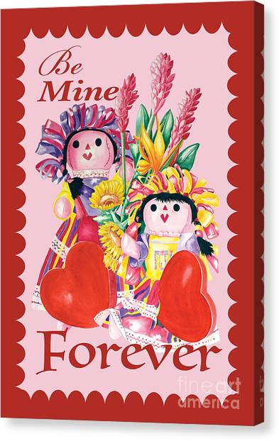 Be Mine-forever Canvas Print