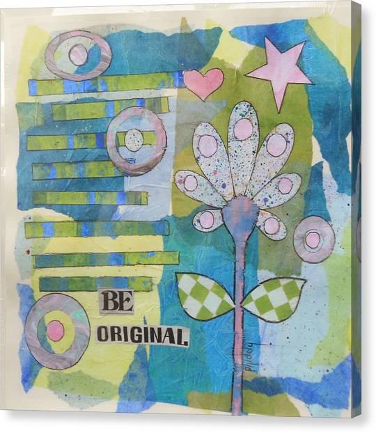 Be Original Canvas Print