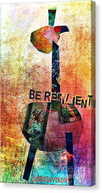 Be Resilient Canvas Print by Currie Silver