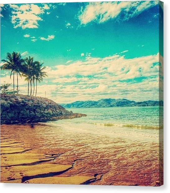 Australian Canvas Print - #beach #australia #townsville #love by Lana Hollander