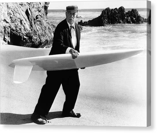 Beach Blanket Bingo, Buster Keaton, 1965 Photograph By Everett