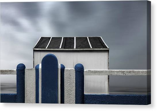 Beach Resort Canvas Print - Beach Box by Gilbert Claes