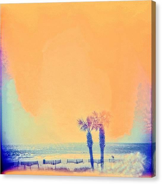 Beach Dream Canvas Print