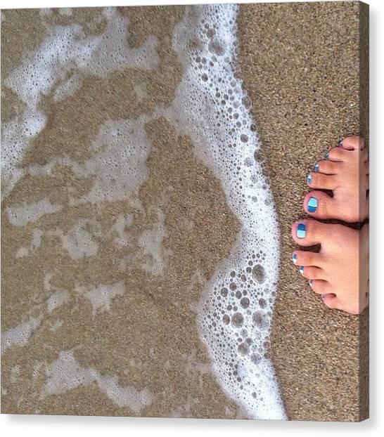 Spam Canvas Print - Beach In Pr <3 #like #love #likes by Zoe Sutter