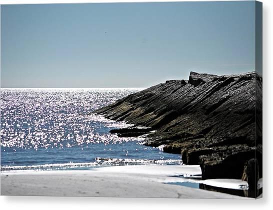 Beach Jetty Canvas Print