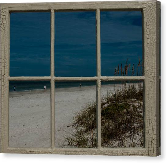 Beach Lookout Canvas Print