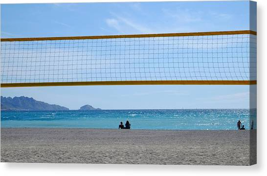 Beach Of Marseille Canvas Print