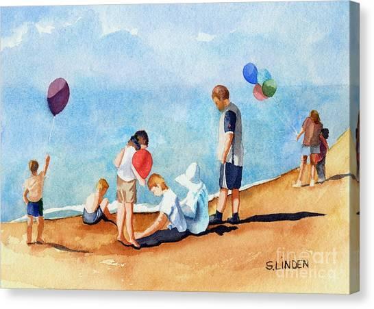 Beach Party Canvas Print