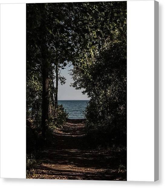 Portal Canvas Print - #beach #portal #photography #nikon #d90 by Kieffer Meridew