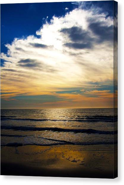 South Carolina Canvas Print - Beach Sunrise by Meagan Johnson