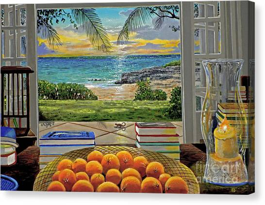 Atlantis Canvas Print - Beach View by Carey Chen