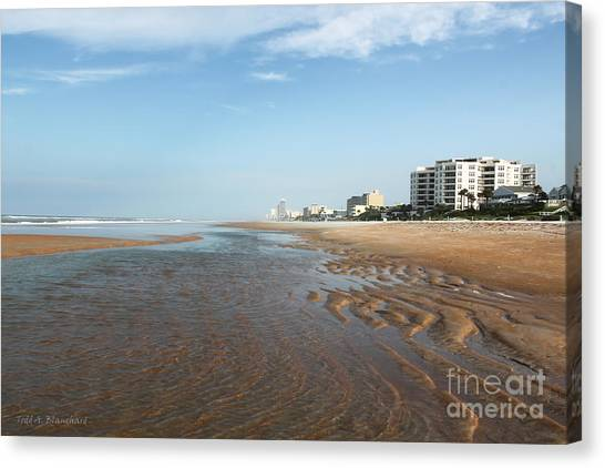 Beach Vista Canvas Print