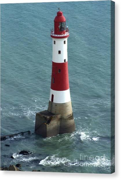 Beachy Head Lighthouse Canvas Print