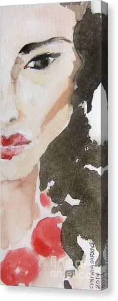 Beaded Canvas Print