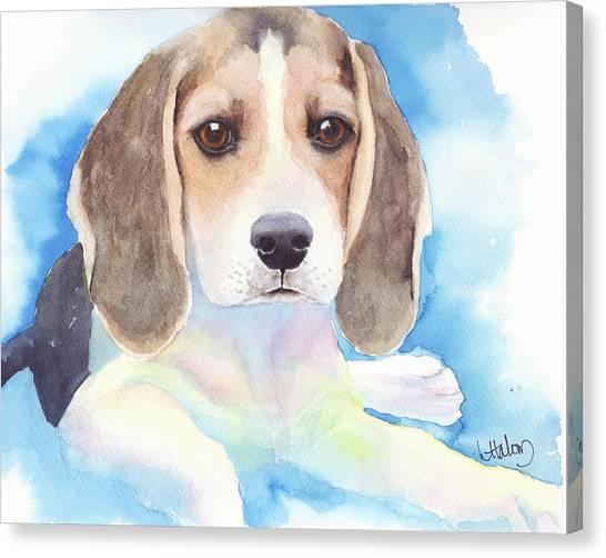 Beagle Baby Canvas Print