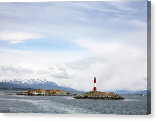 Beagles Canvas Print - Beagle Channel Lighthouse by Steve Allen/science Photo Library