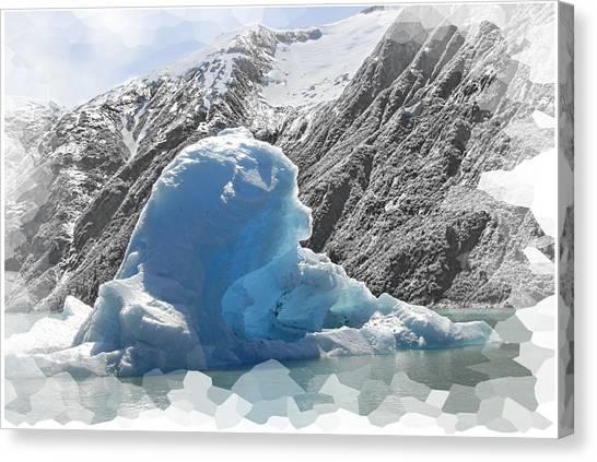 Bear Berg Canvas Print