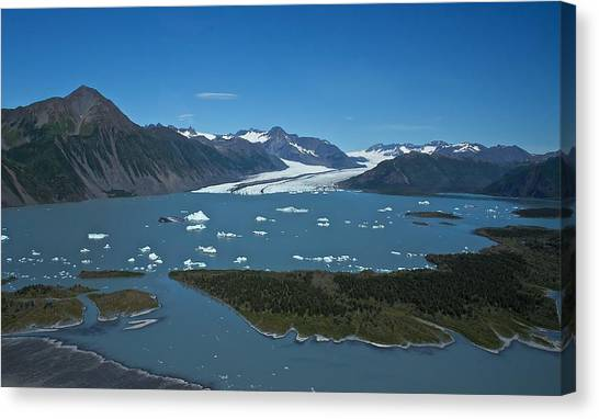 Bear Glacier Seward Alaska Canvas Print