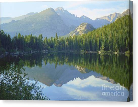 Bear Lake Colorado Canvas Print